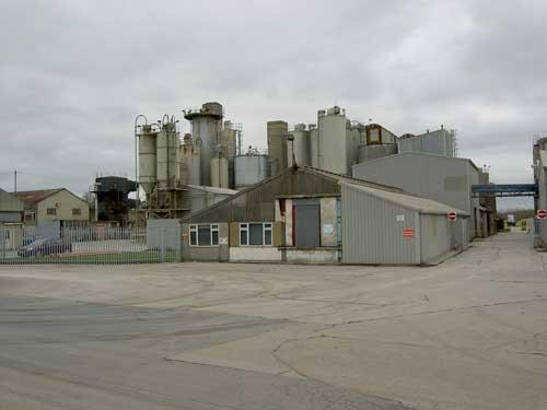 Barnstone Cement Works (Image Credit: Nottinghamshire CC)