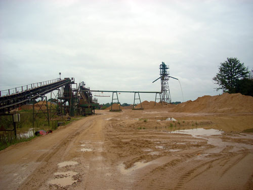 Aggregates: in 13 out of the past 15 years consented reserves have failed to match production (Image credit: Essex County Council)
