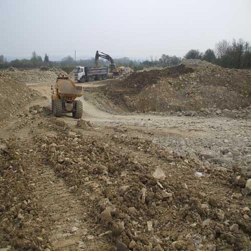 Bowdens Lane Quarry (Image Credit: Somerset CC)