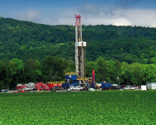 The Marcellus Shale formation, Pennsylvania. Credit: Nicholas Tonelli