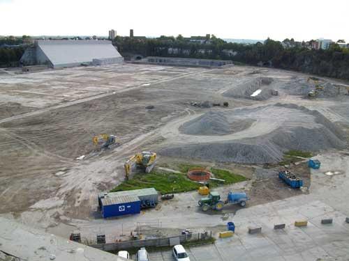 Northfleet: aggregates import terminal allowed (Image credit: David Lock Associates)