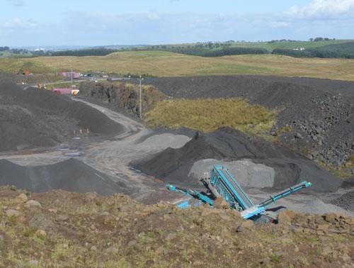 Flock Farm Quarry (Image Credit: East Renfrewshire Council)