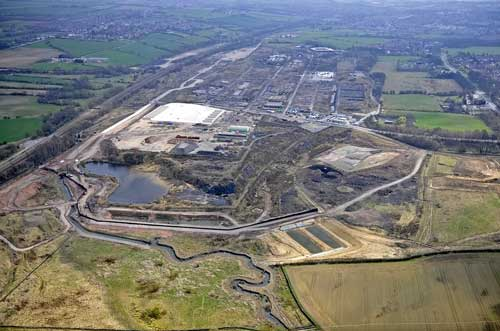 Derby Road: coking works remediation allowed (Image credit: East Midlands Development Agency)