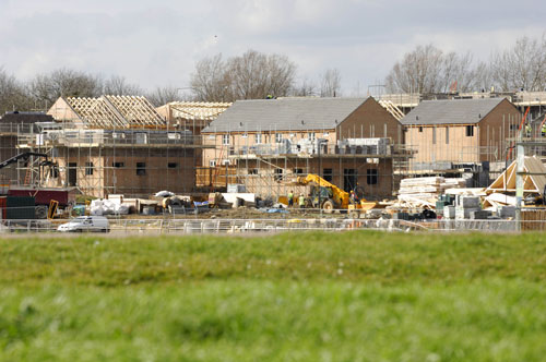 Construction: housing sector heavily hit by cuts (Image credit: SEERA)