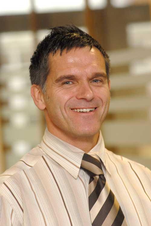 Shaun Davidson: managing director at Lafarge (Image credit: Lafarge)