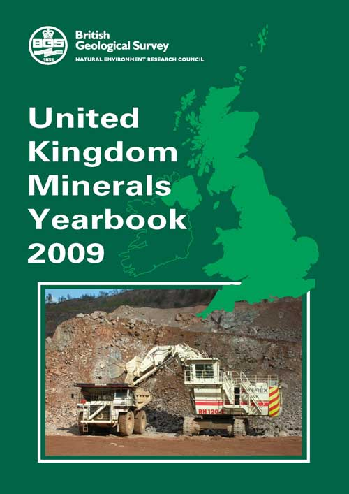 Statistics: minerals yearbook has been released (Image credit: British Geological Survey)