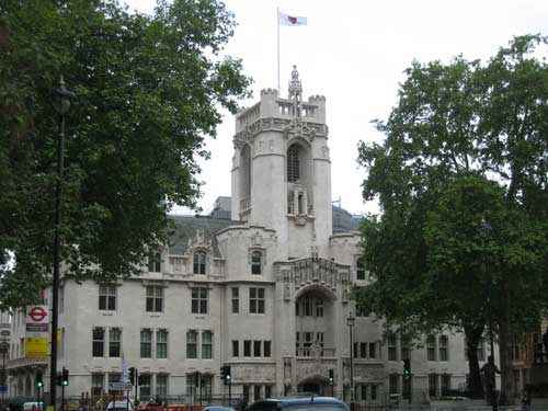Middlesex Guildhall: home of the Supreme Court (Image credit: LG02)