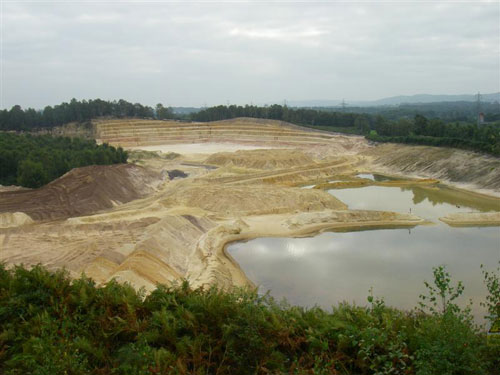 West Heath Quarry: soft sand extraction allowed (Image credit: CEMEX)