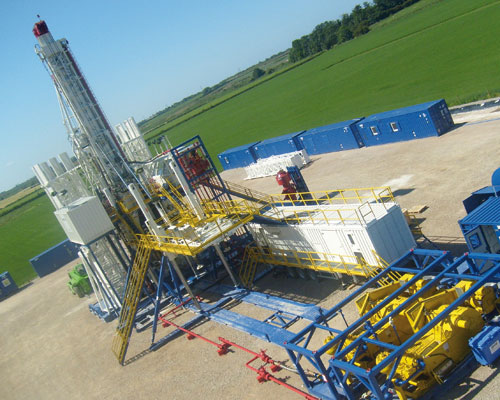 Cuadrilla Resources's site near Blackpool