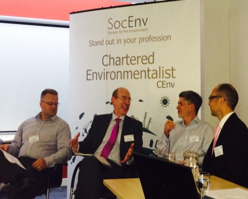 The panel looked at environmental impacts. Picture: SocEnv