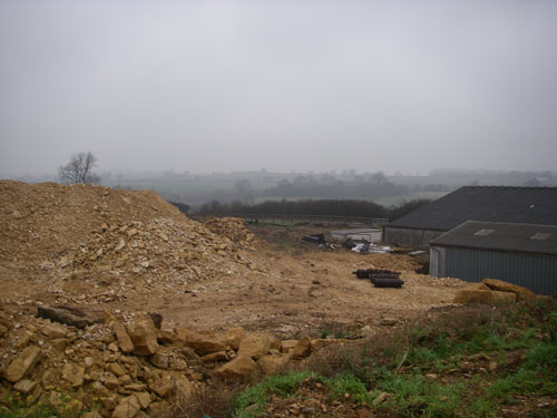 Lidstone: proposal for small scale quarry at farm was withdrawn after being recommended for refusal (Image credit: Oxfordshire County Council)