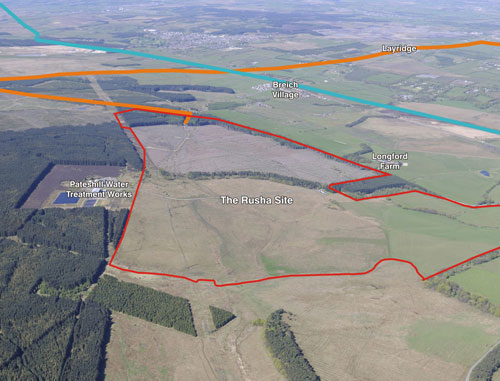 Rusha farm: coal and clay extraction approved
