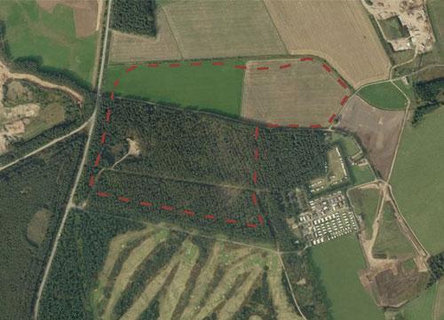 Melville Gates Works: application for 975,000 tonne extension to sand and gravel quarry refused (Image credit: Dalgleish Associates Ltd)