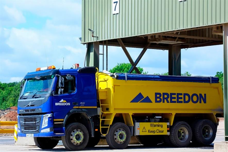 Breenon will divest a small number of ready-mix concrete and asphalt plants along with two quarries and a cement terminal