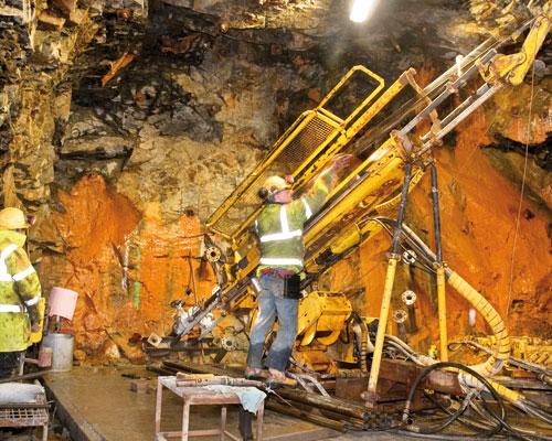 South Crofty mine. Credit: Western United Mines