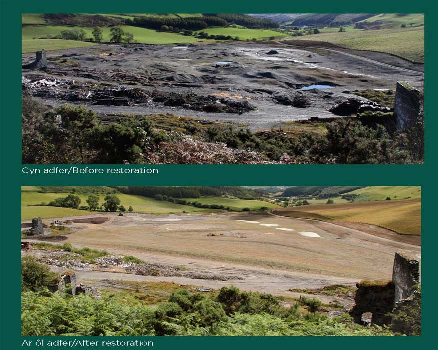 The work is reversing more than 100 years of contamination. Picture: NRW