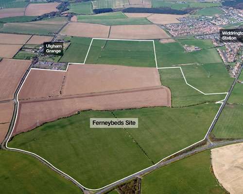 Banks' 95ha surface mine at Ferneybeds Farm has been approved (credit: Banks Group)