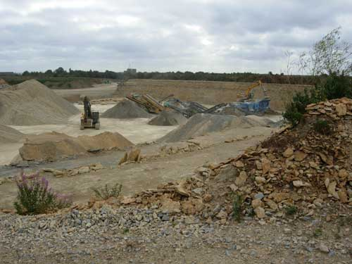 Aggregates: additional sites needed in Devon (Image credit: Lincolnshire County Council)