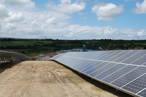 Wheal Jane: Cornish site for £4 million solar farm that will include around 6,000 photovoltaic panels