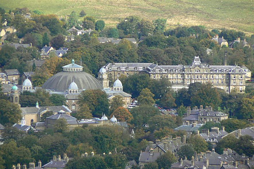 The Palace Hotel in Buxton hosted the BAA event. Photograph: Alan Murray/Geograph