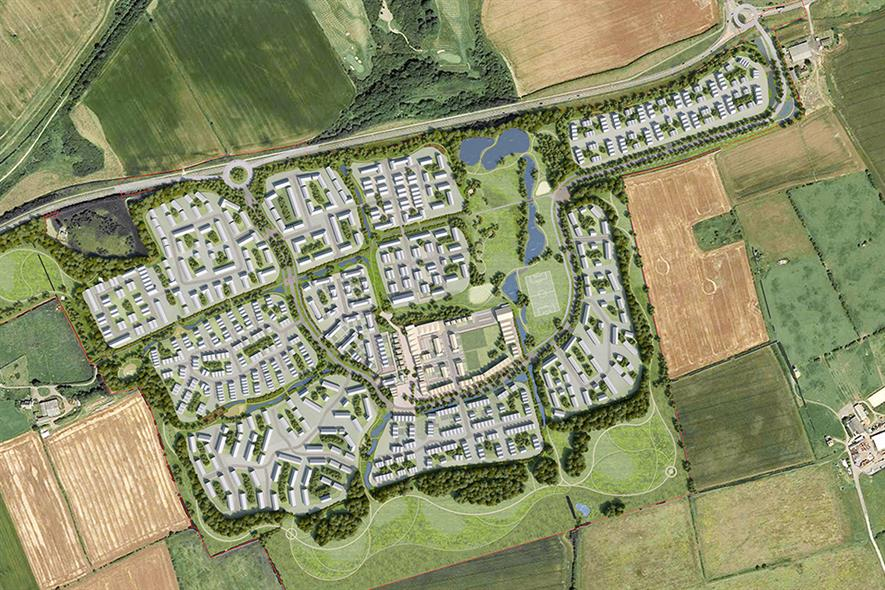A 750-home development at Seaham, County Durham, will be supplied with geothermal heat from the Coal Authority's Dawdon mine water treatment scheme