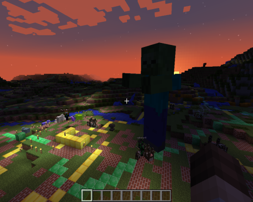 Serious fun: geologists tap into Minecraft imagery. Picture: BGS