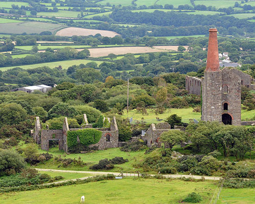 Former Phoenix United tin mine, Bodmin Moor: could Cornwall's mining past rise again? Credit:TNILFANION CC BY SA 3.0
