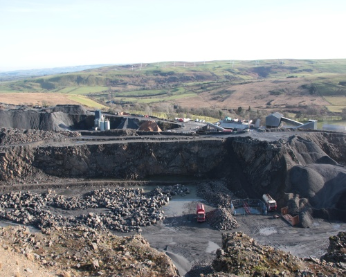 Tan-y-Foel quarry has been run by the the Bowen family for more than 70 years