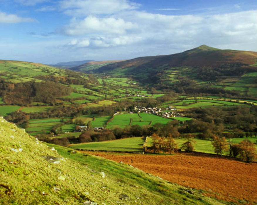 The Brecon Beacons, part of which is a World Heritage Site. Picture Brecon Beacons NPA