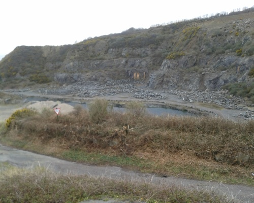 Dean Quarry could supply rock to tidal bay projects. Picture: Kevin Butler
