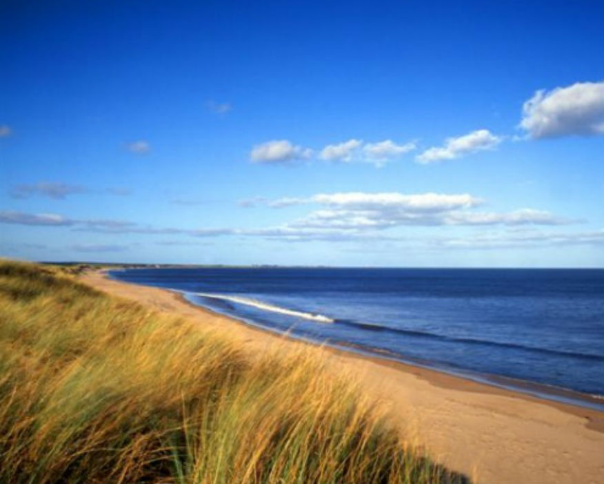 Highthorn mine overlooks a beauty spot. Picture: Druridge Bay Country Park