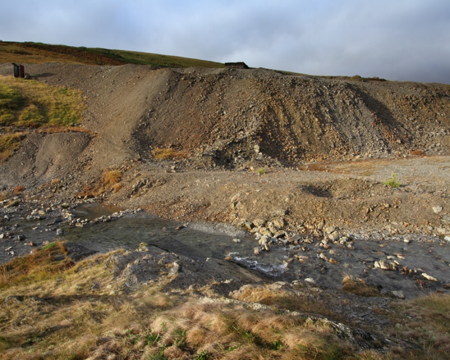 Dylife mine pollutes over 35km of river. Picture: Paul Edwards/NRW