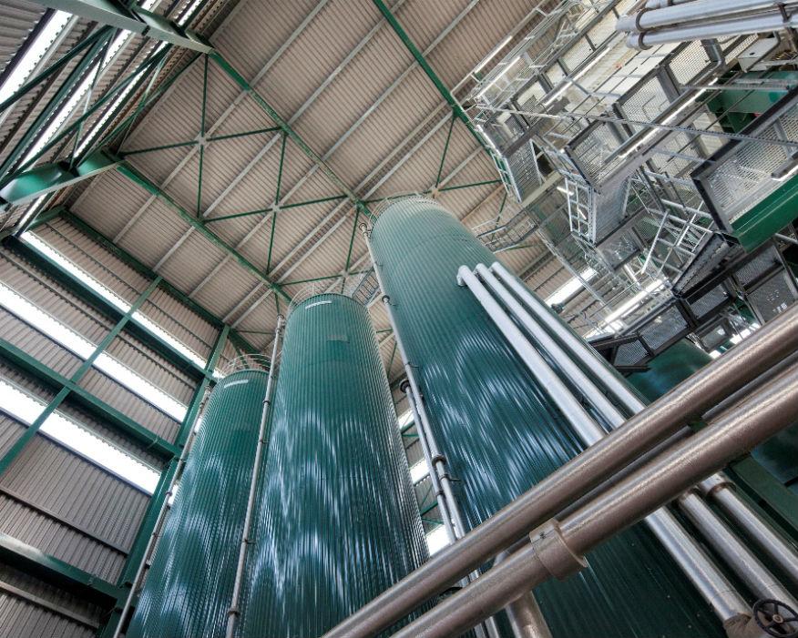 Inside FM Conway's Heathrow asphalt plant. Picture: FM Conway