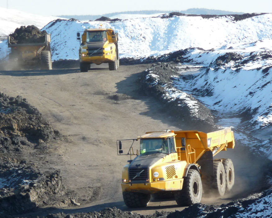 Autonomous vehicle technology could be used on mine sites. Picture: Hargreaves