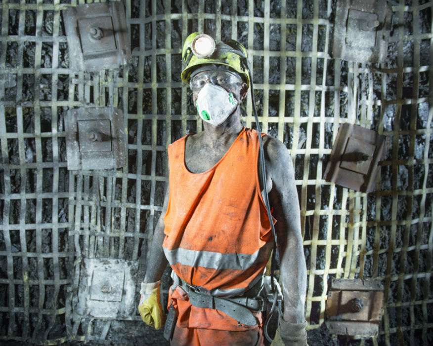 Kellingley miner before closure in 2015. Picture: UK Coal