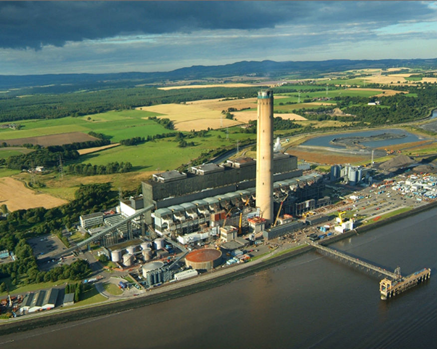 Britain's biggest plant of its kind, Longannet, ran for 46 years. Picture: Scottish Power