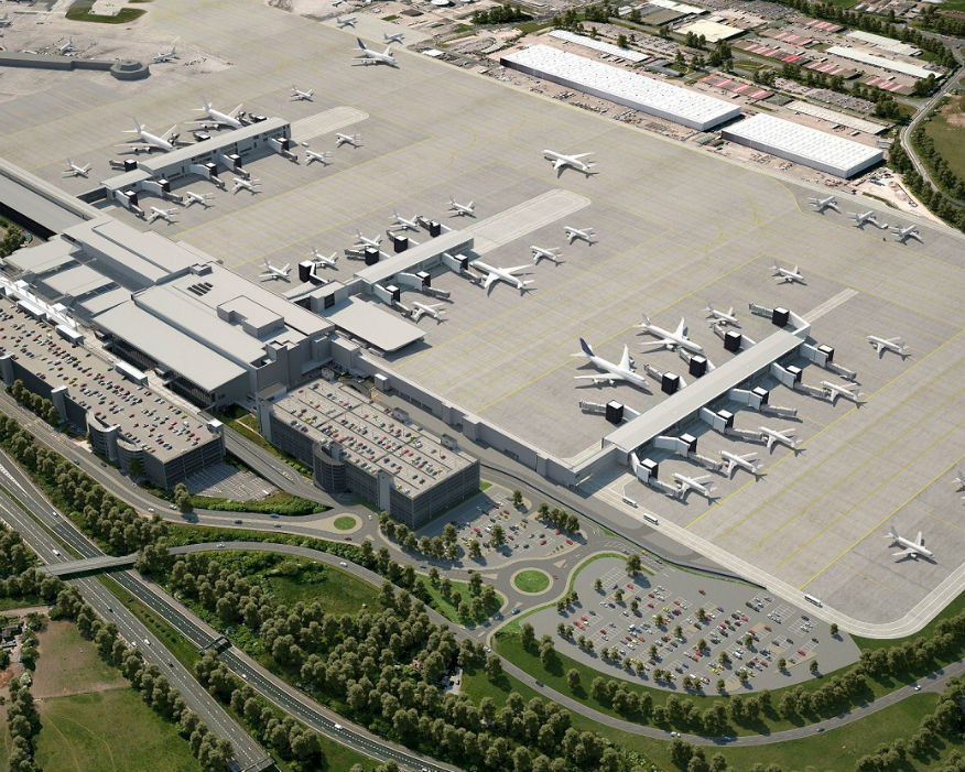 Laing O'Rourke is helping transform Manchester airport. Picture: Manchester Airport