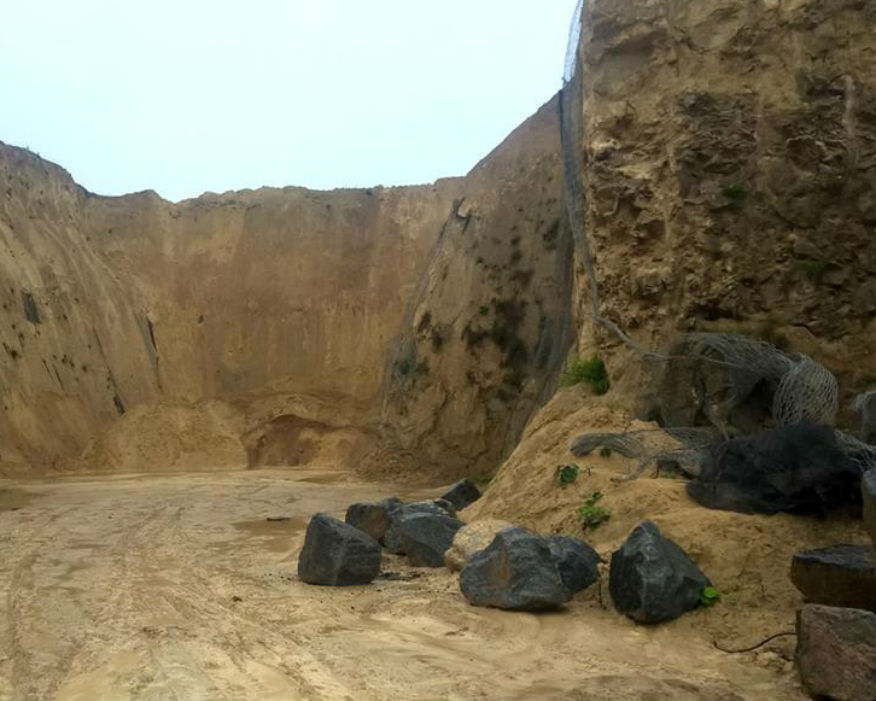 The 31-hectare quarry made £4.9m revenue last year. Picture: GVA