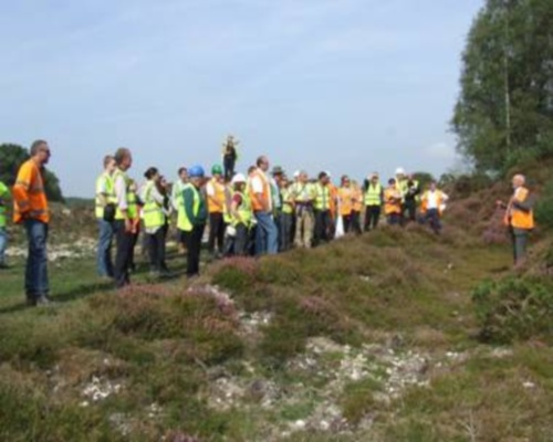 The Restore project has used field trips to unite experts from across Europe. Picture: NAM