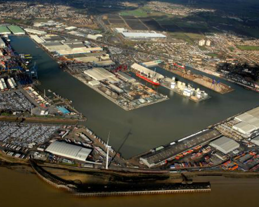 The site for Tilbury2. Picture: Thurrock Council