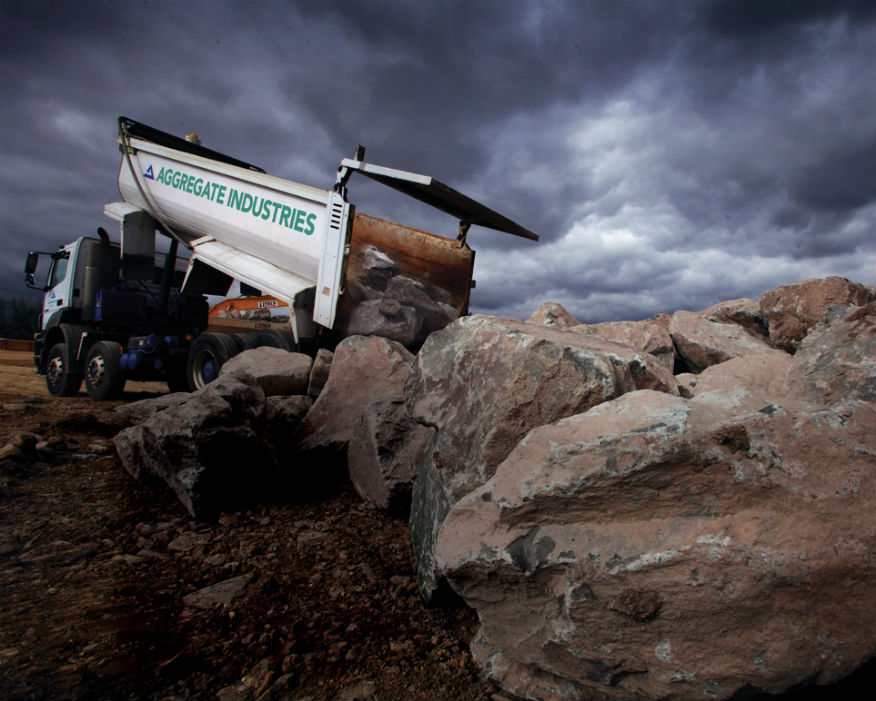 Aggregate Industries launched Fair & Just to improve standards. Picture: Aggregate Industries
