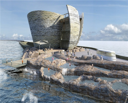 Hammond made no mention of the £1.3bn Swansea bay lagoon. Picture: Tidal Lagoon Power