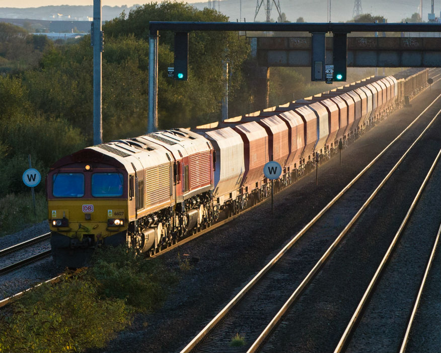 Rail depots and wharves are crucial for delivery of aggregates in London. Picture: Cemex