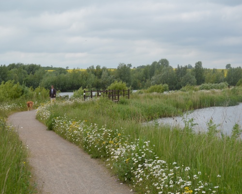 Hanson's Upper Nene Valley gravel pits, overall winner of the landscape scale restoration category. Picture: MPA