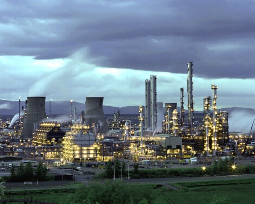 The shale section licence area includes its Grangemouth refinery. Picture: Ineos