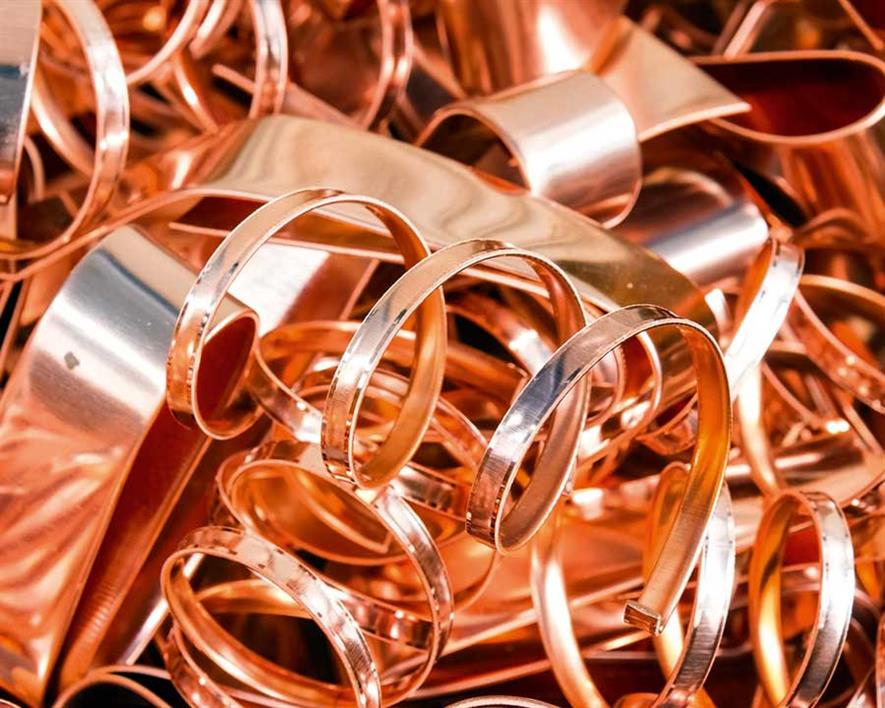 Copper has proved to be antimicrobial (credit: Matee Nuserm/123RF)