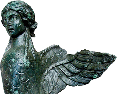 Harpies were believed to vanquish earthly evildoers. Picture: Brett Aggregates