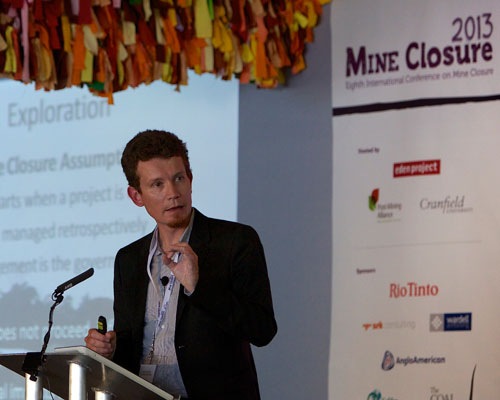 The eighth international conference on Mine Closure 2013 was held at the Eden Project. Credit: Eden Project