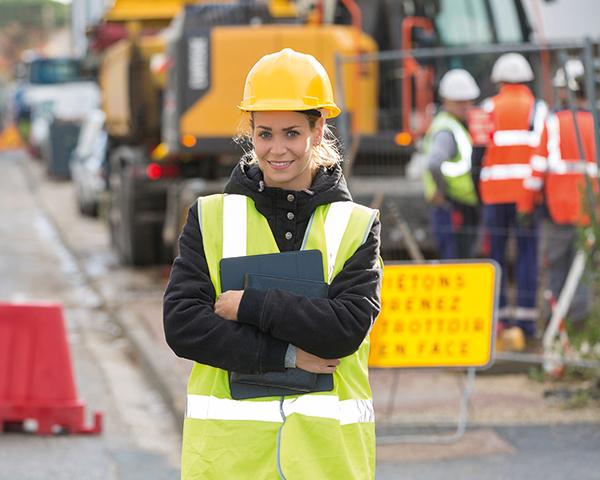 Women make up just 5-10% of mining workforce. Photo:AggregateIndustries