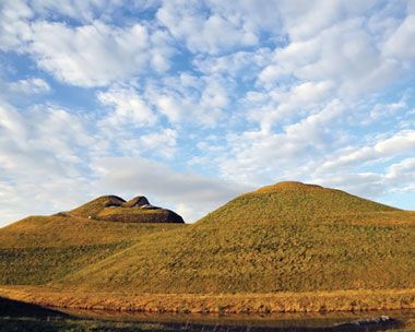The creation of award-winning landscape Northumberlandia was driving by mining (credit: Banks Mining)